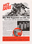 Bike Web Supporter Vintage Advertising